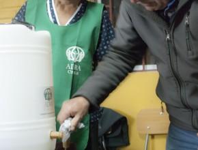 Damnificados por inundaciones fueron beneficiados con talleres de agua y saneamiento.