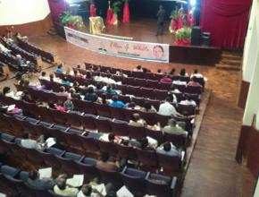 Iglesia Adventista de Crone donde se dictaron los seminarios por el centenario del legado de Elena G. White.