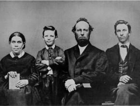 Ellen White y su familia. La vida de ella, del esposo y de los hijos fue dedicada a proclamar el amor de Cristo y su retorno.
