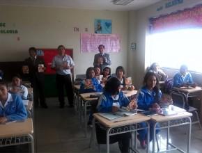 Alumnas del Colegio Luis Fabio Xammar – Huacho
