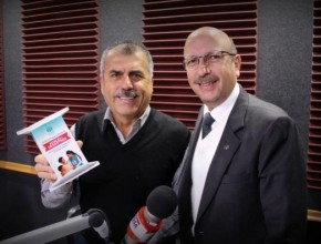 Periodista Nicolás Lúcar respaldó colecta nacional de ADRA - Perú.