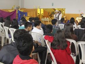 Tema del Santuario fue mostrado con creatividad y dinamismo para adolescentes.