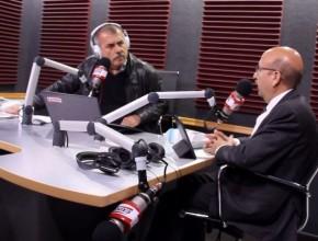 Periodista Nicolás Lucar, de Radio Exitosa (Lima, Perú), entrevista al Dr. Plinio Vergara, director de ADRA Perú.