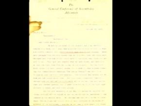 Manuscritos inéditos de Elena G. White.