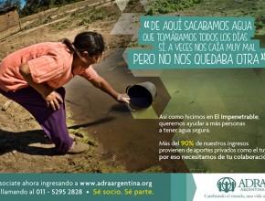 Afiche que está circulando las redes sociales en busca de socios de ADRA Argentina.
